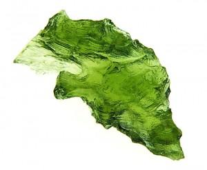 Moldavite from Nesměň