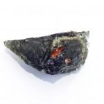 Moldavite with Ferruginous sandstone