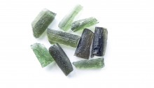 Moldavites colors