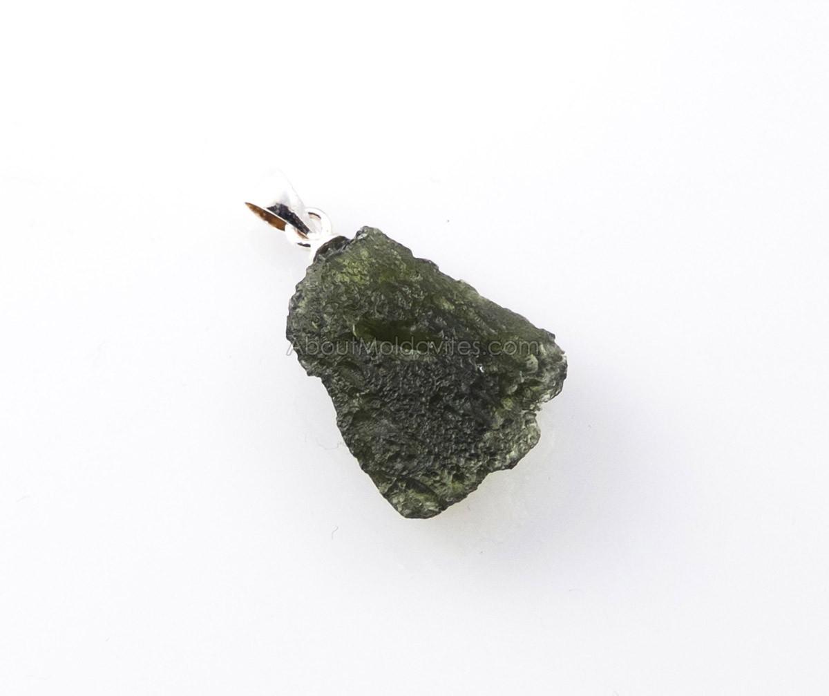 Moldavite form Nova Hospoda (pendant)