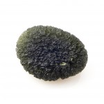 Moldavite in normal light