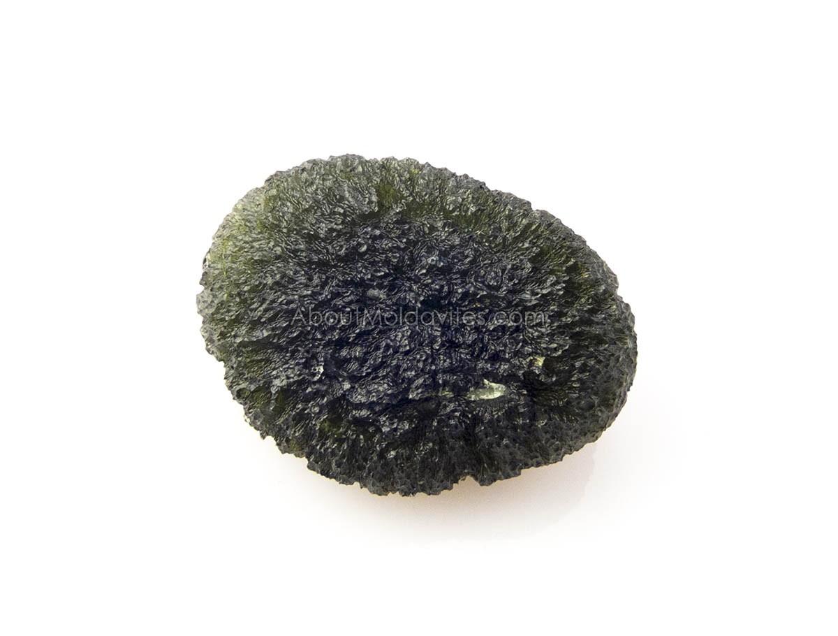 Moldavite in normal light