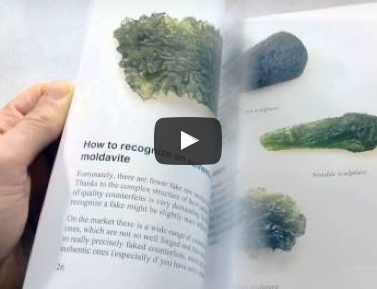How to identify genuine moldavites and moldavite fakes - Video preview