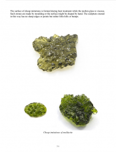 Book - Real x Fake Moldavite - screenshot 2