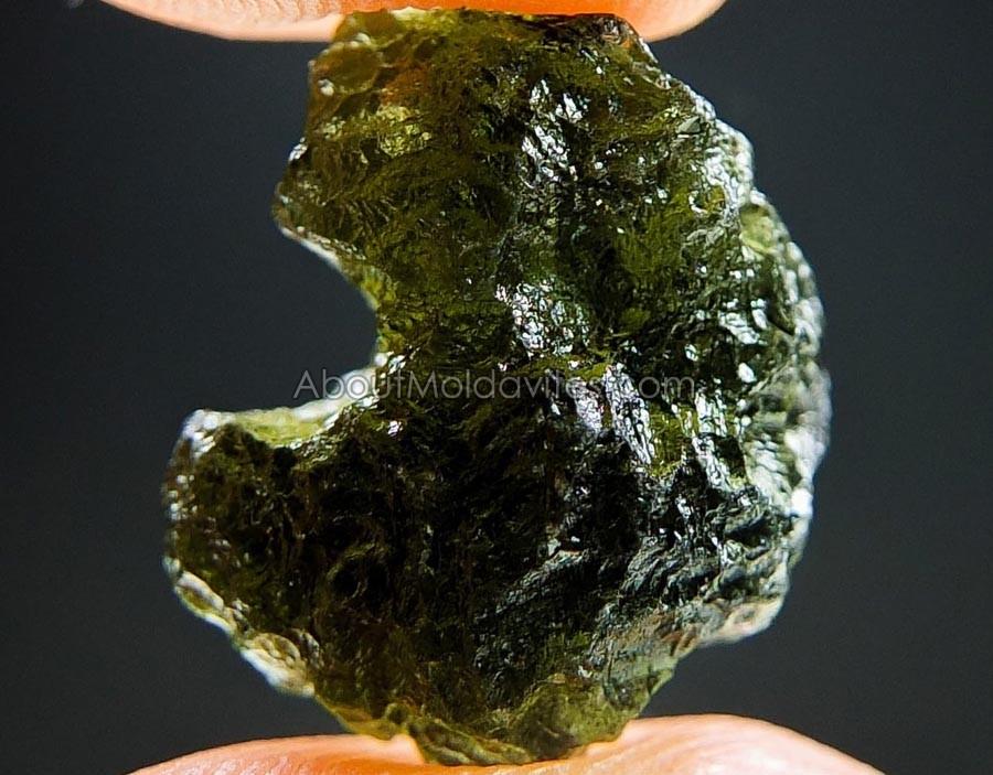 Moldavite from deposit Chlum