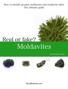 How to identify genuine moldavites and moldavite fakes - cover