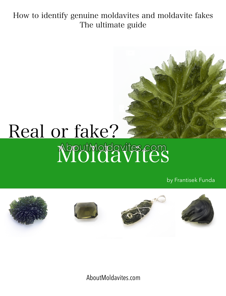 How to identify genuine moldavites and moldavite fakes - cover