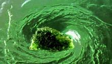 Moldavite flush