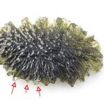 Moldavite form deposit Paryz