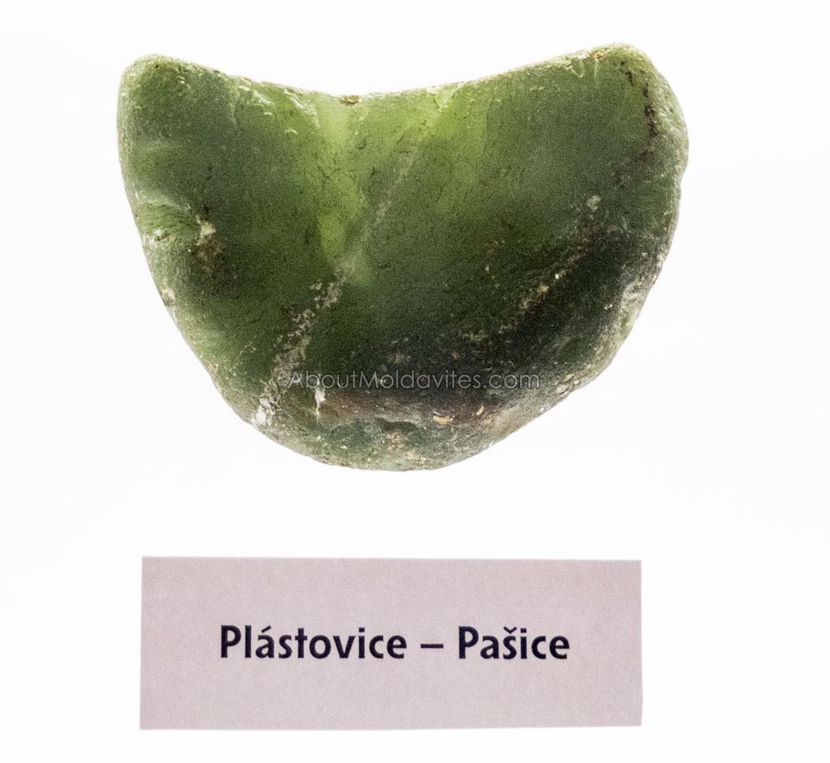 Moldavite with size like a palm
