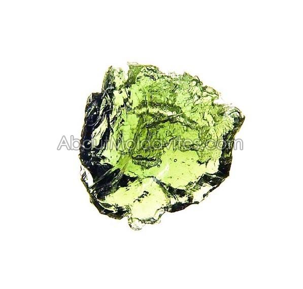 Damaged moldavite