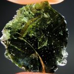Damaged moldavite
