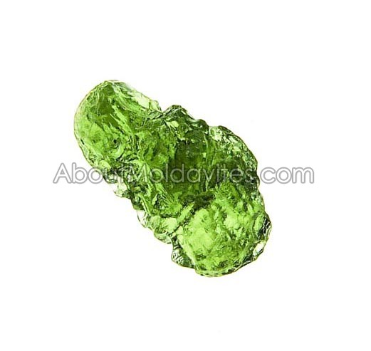 Chipped-off moldavite