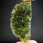 Moldavite from Maly Chlum (like a hedgehog)