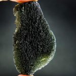 Large moldavite - drop fragment