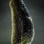 Large moldavite - drop fragment