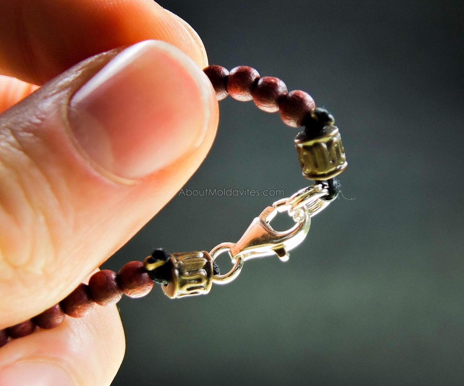 Men's Moldavite Necklace