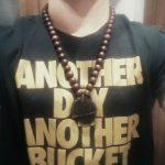 Big moldavite necklace