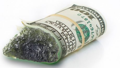Moldavites can attract prosperity