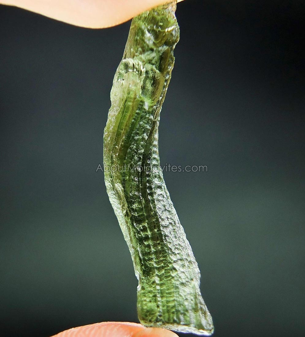 Rare Distorted Moldavite