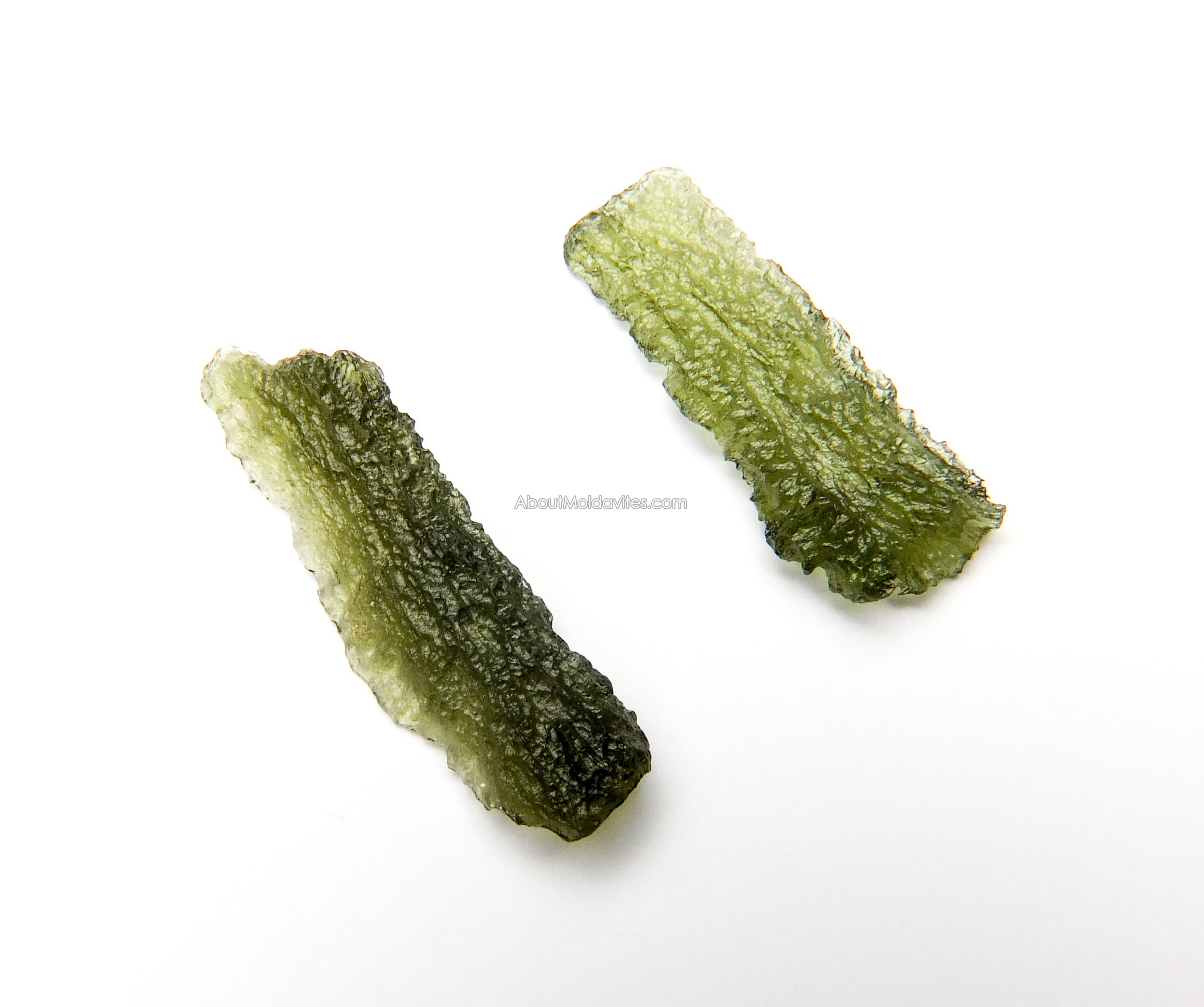 Angel chime and ordinary moldavite
