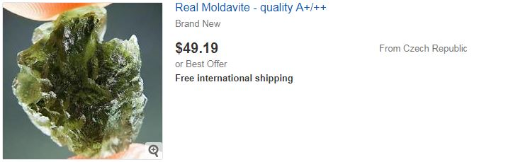 Real Moldavite - quality A+/++
