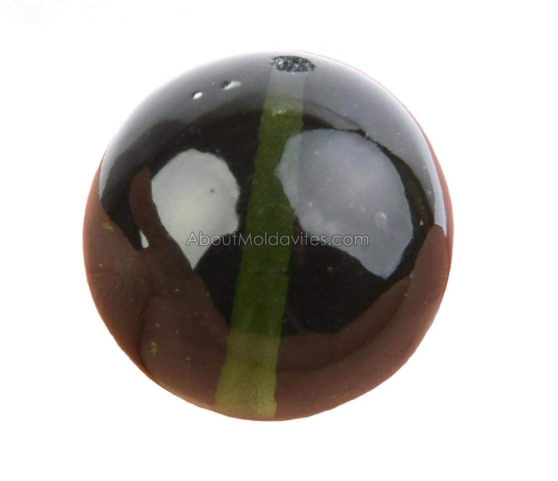 Authentic Moldavite bead