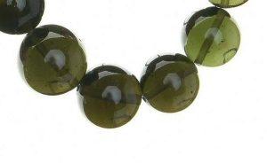 Authentic Moldavite Beads