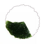Disk - fragment (moldavite shape)