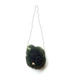 Drop - lower fragment (moldavite + sketch)